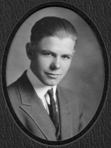 Wallace as Senior in High School
